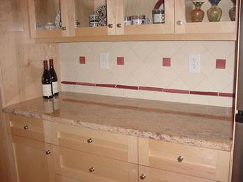 Peach Kitchen granite countertops and kitchens in durham and raleigh, north carolina